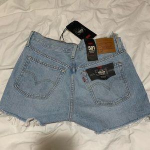 NWT! Levi's high rise shorts